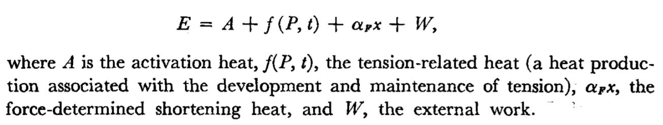 Hills Model Thermodynamics